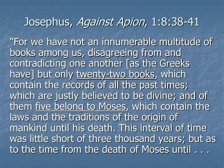Josephus,