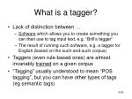 what is a tagger