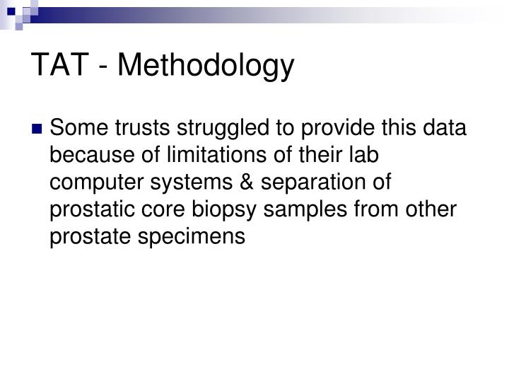 TAT - Methodology