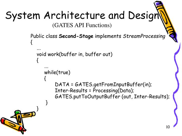 System Architecture and Design