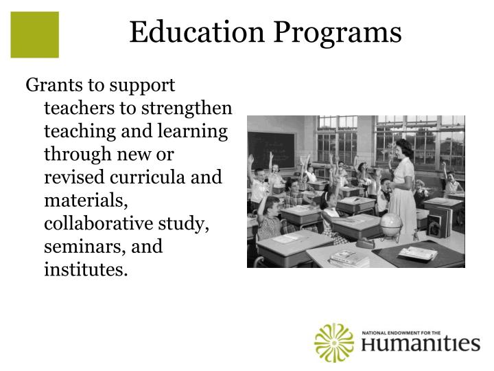 Education Programs