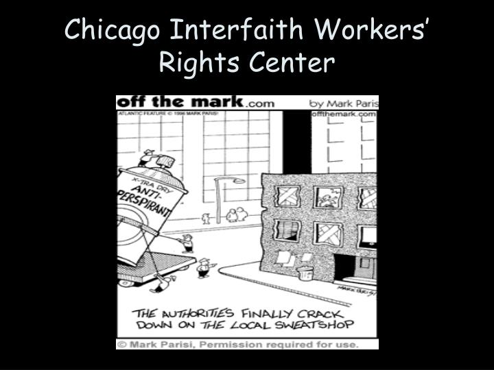 Chicago Interfaith Workers' Rights Center