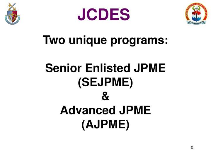 JCDES