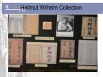 hellmut wilhelm collection