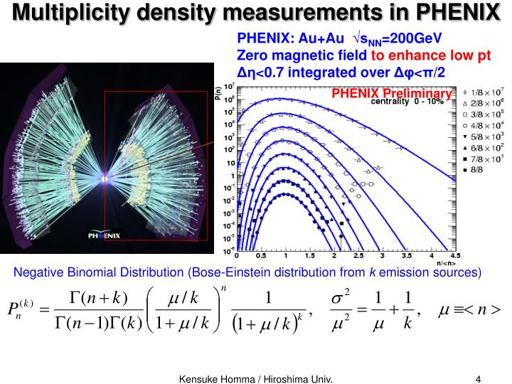 Multiplicity density measurements in PHENIX