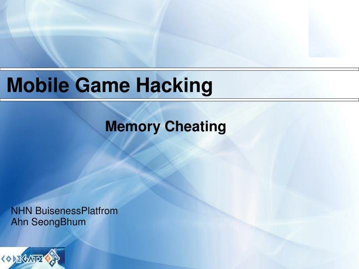 Memory cheating