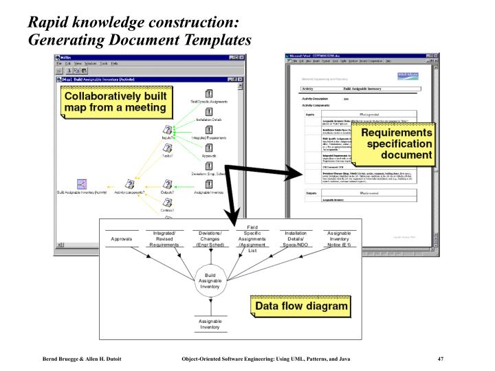 Rapid knowledge construction: