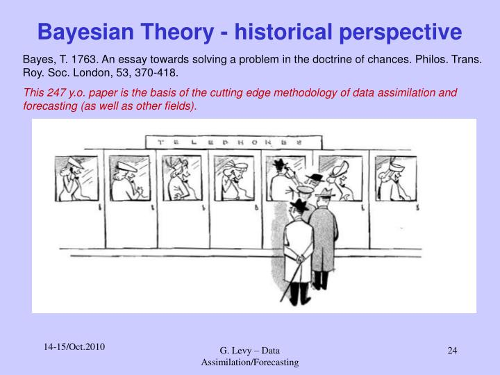 Bayesian Theory - historical perspective