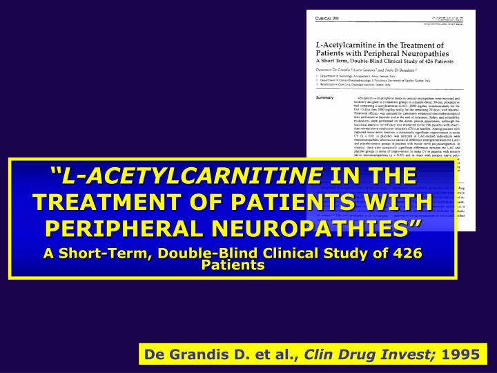 """L-ACETYLCARNITINE"