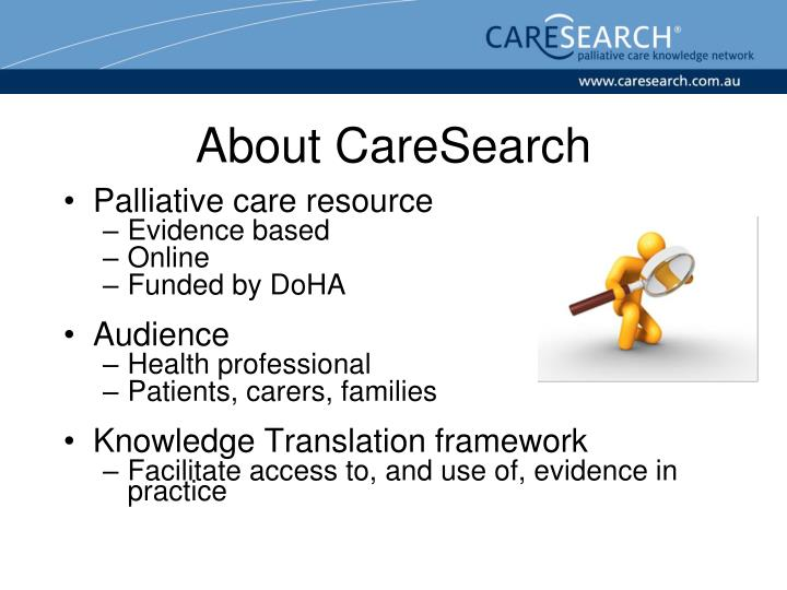 About CareSearch