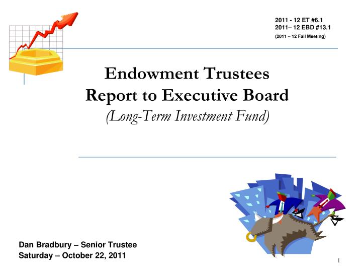 Endowment trustees report to executive board long term investment fund