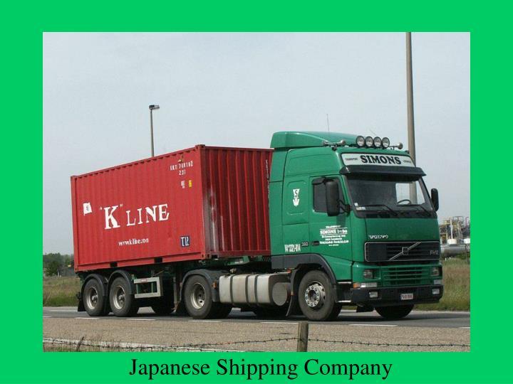 Japanese Shipping Company