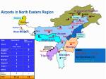 airports in north eastern region