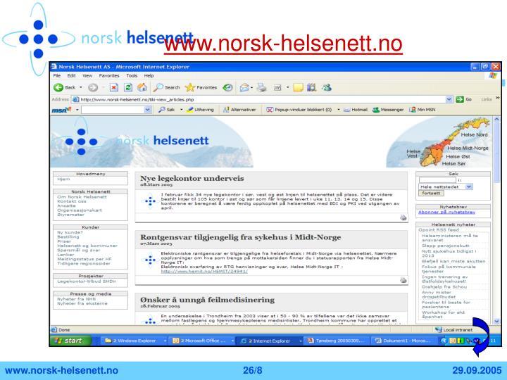 www.norsk-helsenett.no