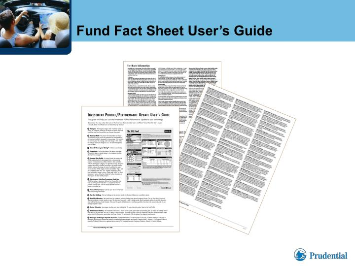 Fund Fact Sheet User's Guide