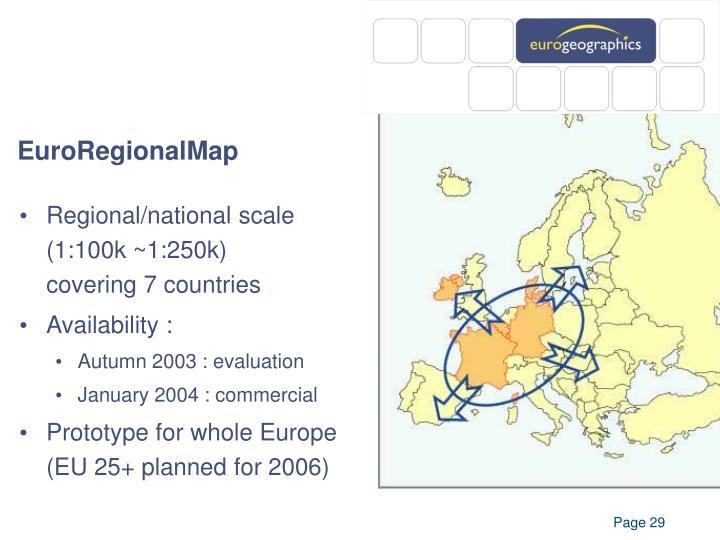 EuroRegionalMap