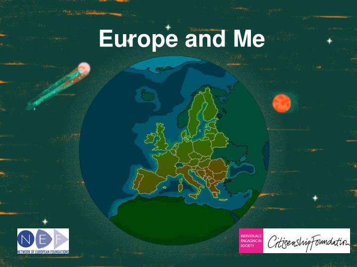 europe and me n.