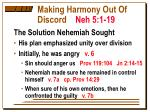 making harmony out of discord neh 5 1 193