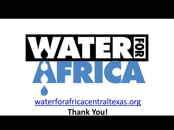 waterforafricacentraltexas.org