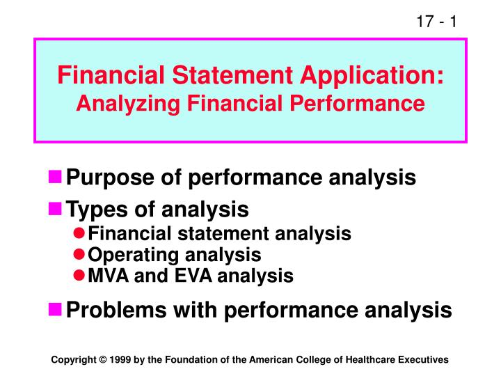 Financial Statement Application: