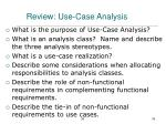 review use case analysis