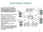 unify analysis classes