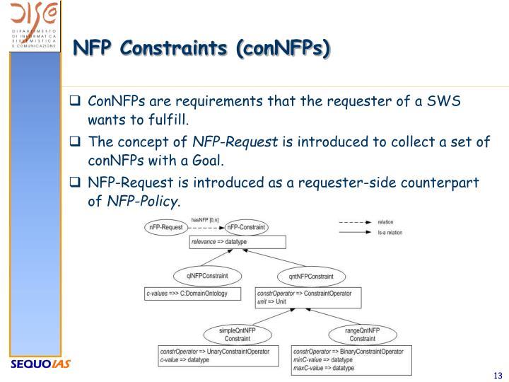 NFP Constraints (conNFPs)