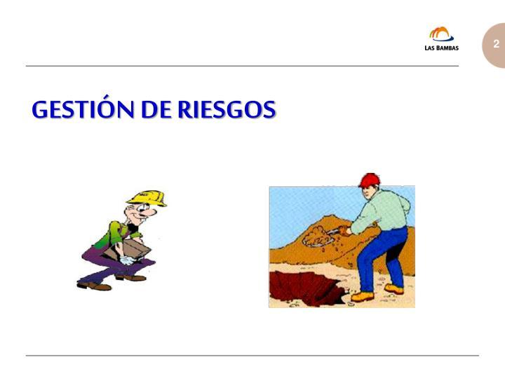 GESTIÓN DE RIESGOS