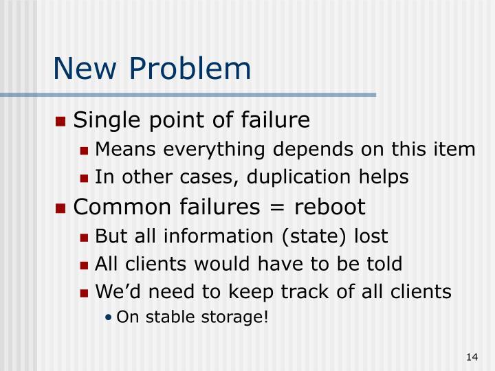 New Problem