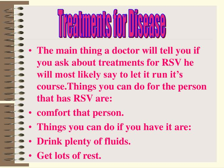 Treatments for Disease
