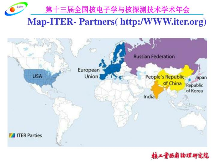 Map-ITER- Partners( http:/WWW.iter.org)