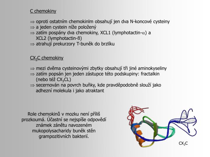 C chemokiny