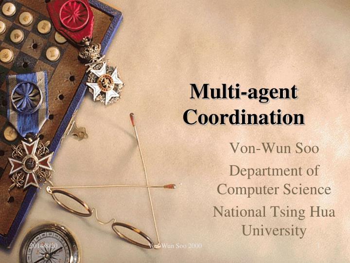 multi agent coordination n.