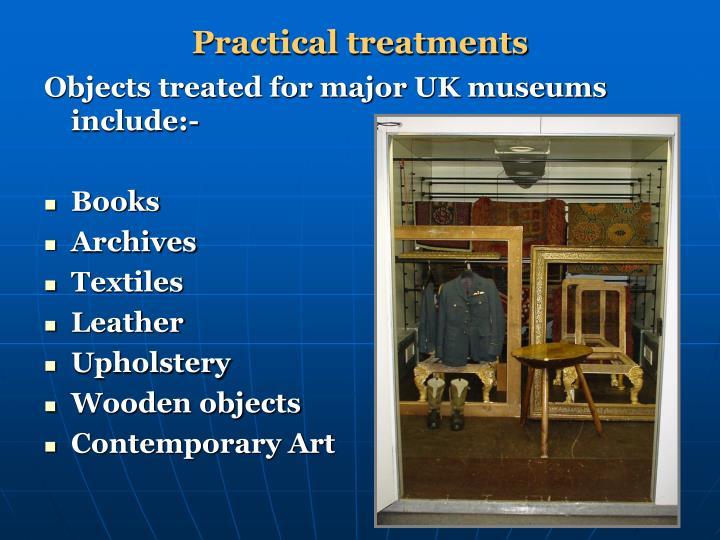 Practical treatments