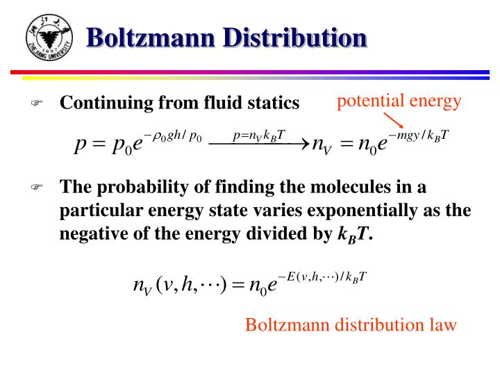 Boltzmann Distribution