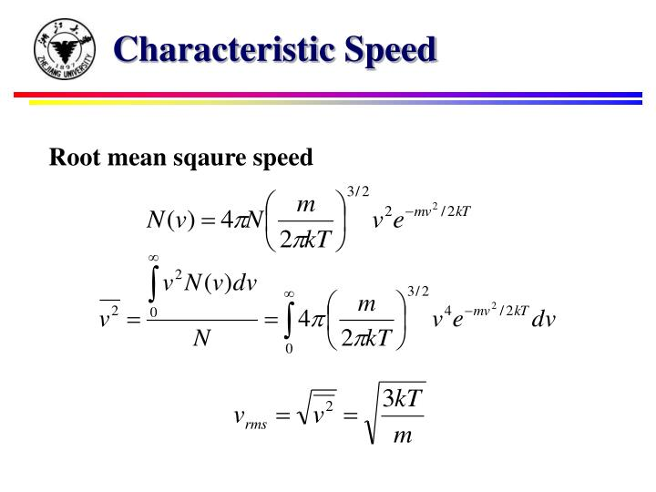 Characteristic Speed