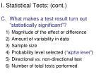 i statistical tests cont1
