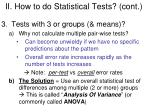 ii how to do statistical tests cont1