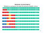 memory manegement11