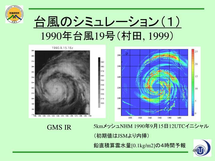 台風のシミュレーション(1)