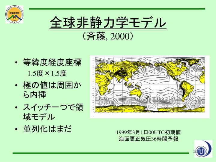 等緯度経度座標