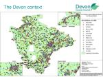 the devon context