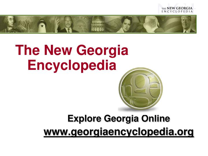 the new georgia encyclopedia n.