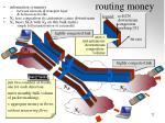 routing money