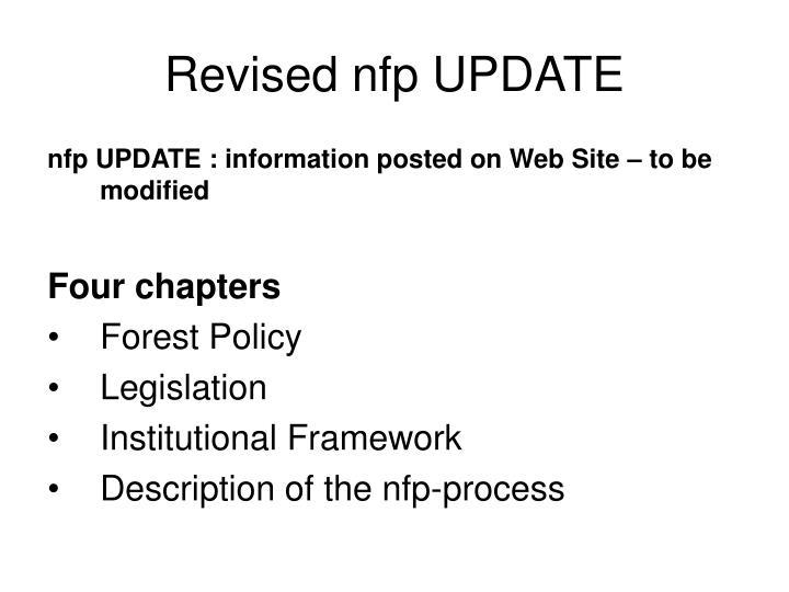 revised nfp update n.