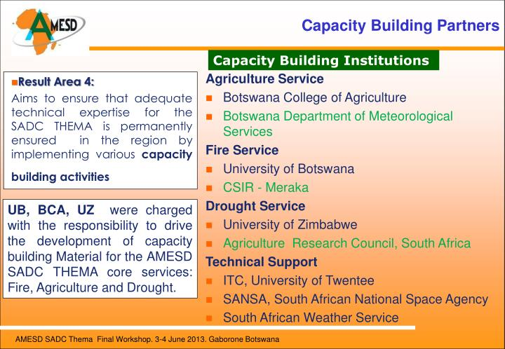 Capacity Building Partners