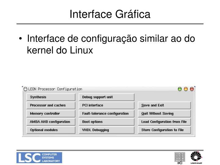 Interface Gráfica