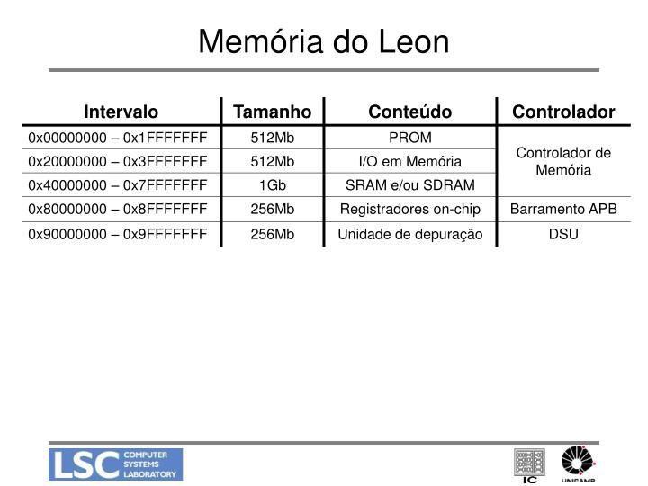 Memória do Leon