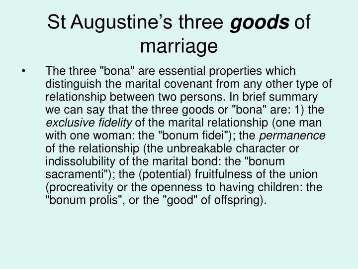 St Augustine's three
