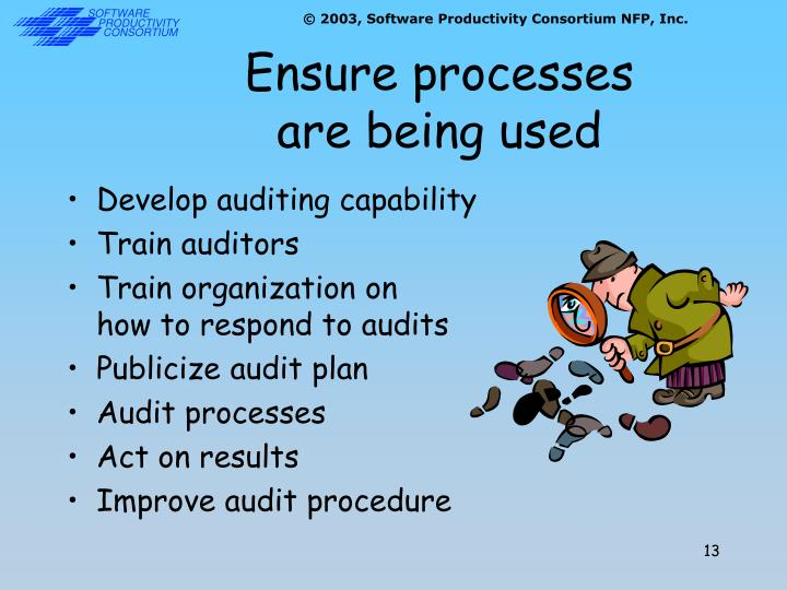 Ensure processes